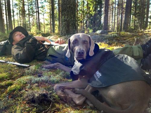 Sverre og Oban_jakt